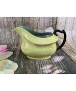 Antique Phoenix China Czech-Slovakia Green Iridescent Lusterware Creamer - $23.38