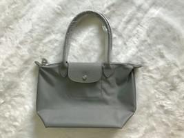 Longchamp Le Pliage Neo Small Tote Bag Pebble Galet 2605578274 Authentic - $139.00