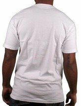 SSUR Fast Life NYC New York Cityscape Blowing White Short Sleeve Graphic T-Shirt image 2