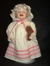 Ashton Drake Sarah porcelain doll Yolanda Bello Picture Perfect box numb... - $38.20