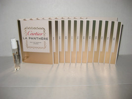 12 x La Panthere Legere by Cartier 1.5ml. Eau De Parfum Women Spray Samp... - $19.75