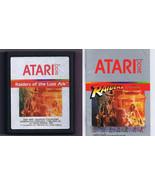 ORIGINAL Vintage TESTED 1982 Atari 2600 Raiders of the Lost Ark Game + M... - $37.25
