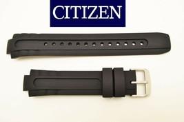 Genuine Citizen watch band rubber BLACK strap Eco-Drive BN0070-09E BN0070 - $68.95
