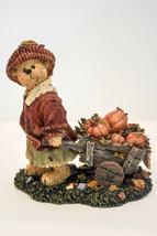 Boyds Bears  Emma Fallsbeary  Punkin' Pickin' Folkstone 228510 Classic Figure - $27.88
