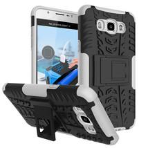 Layer Hybrid Kickstand Shockproof Case For Samsung Galaxy J5 (2016) - Wh... - $4.99