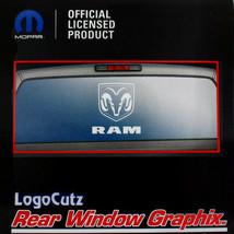 Big Dodge Ram White Vinyl Decal Emblem Graphic Sticker for Car-Truck Rea... - $18.95
