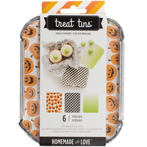 Homemade With Love Food Craft Treat Tins Halloween Small - $15.00