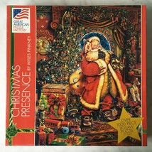 Christmas Presence Myles Pinkney Great American Puzzle Factory - 1000 Pieces NEW - $23.70