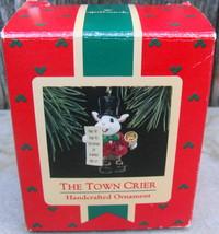 1988 The Town Crier Christmas Ornament Hallmark Mouse - $18.00