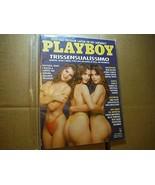 foreign Playboy Brazil OCT 1992 Porto Triplets! **rare CF Tylyn John Min... - £19.21 GBP