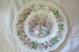 Vintage 1982 ROYAL DOULTON Collector Plate BRAMBLY HEDGE  SUMMER - Jill ... - $18.69