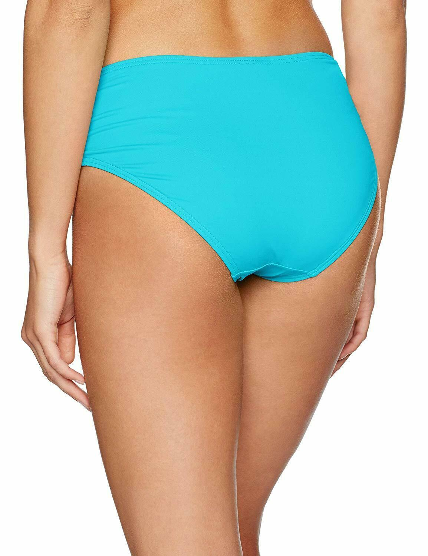 Coco Reef CLASSIC SOLIDS AQUAMARINE Bikini Swim Bottom Swimsuit, US Small
