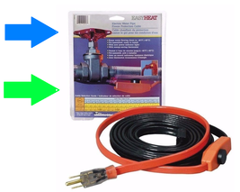 EASY HEAT AHB Electric Water Pipe Freeze Proof Heated Cable Tape *PICK S... - $29.84+
