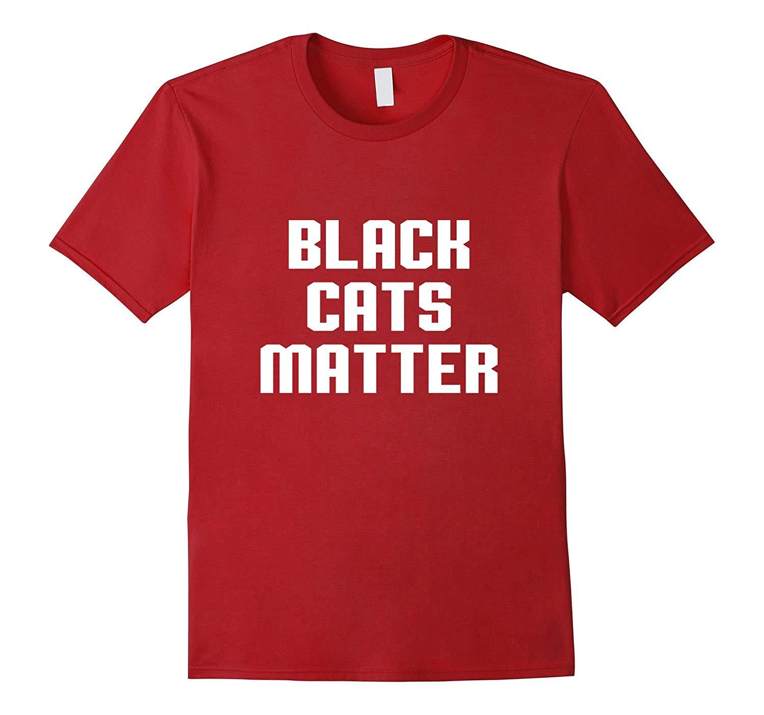 Primary image for New Shirts - Black cats matter Shirts Men