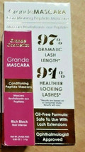 GrandeMascara Conditioning Peptide Mascara in Rich Black 0.05oz NIB Trav... - $9.85