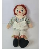 "Vintage Raggedy Ann Doll By Knickerbocker Rare 1960's 20 "" Rag Soft Doll... - $65.99"