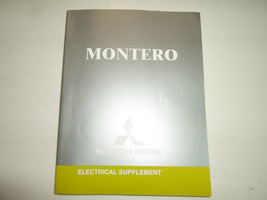 2005 Mitsubishi Montero Electrical Supplement Manual Factory Feo Book 05 Deal - $21.33