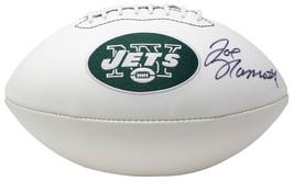 Joe Namath Signed New York Jets Logo Football BAS - $396.98