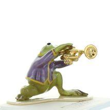 Hagen Renaker Miniature Frog Toadally Brass Band Trumpet Ceramic Figurine image 7