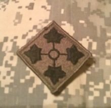 (Used) 4th Infantry Division Patch (Multicam) - $6.50