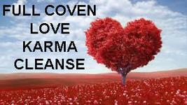 27X FULL COVEN CLEANSE & RELEASE KARMIC LOVE DEBTS & ENERGIES Magick 96 ... - $112.77
