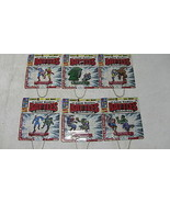 Metal Classic Marvel Battles & Team-Ups Complete Set of 6 ~ Schylling FS - $62.89