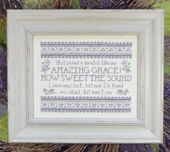 Amazing Grace cross stitch chart My Big Toe Designs - $10.00