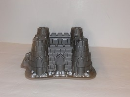 Nordic Ware Castle Bundt Cake Pan Princess Gingerbread House Sandcastle nb - $20.00