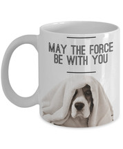 "Beagle Mug ""Star Wars May The Force Be With You... - $14.95"