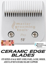 Pro Ceramic Edge Pet Grooming 5F 5FC Blade Fit Oster A5,MOST Andis,Wahl Clipper - $33.07