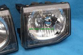 92-96 Mitsubishi Montero JDM Glass Headlights Head Light Lights Set 97 UPGRADE image 3