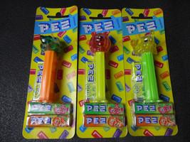 PEZ BONBONS Crystal Rainbow Animal Elephant Crocodile Bear  - $38.96