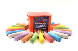 Regal Games Chalk City - 20 Piece Jumbo Washable Sidewalk Chalk - $8.20