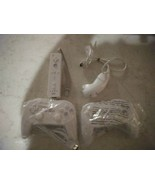 2  Classic wii Game Controllers  1 nunchuck & 1 wireless motion controller - $39.59