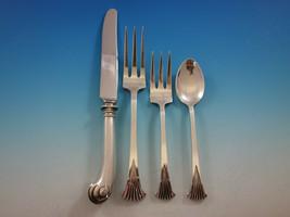 Onslow by Tuttle Sterling Silver Flatware Set Service 24 Pieces DE Date ... - $1,487.50