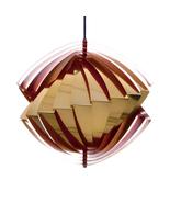 KONKYLIE (Conch) pendant by Louis Weisdorf, LYFA, 1963. Attractive ceili... - $1,484.00