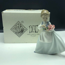NAO LLADRO SPAIN PORCELAIN figurine statue sculpture daisa 495 Bouquet s... - $173.25
