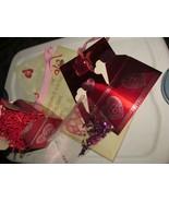 Valentine 2 gift bags & 1 gift box w/stuffing & confetti - $2.00