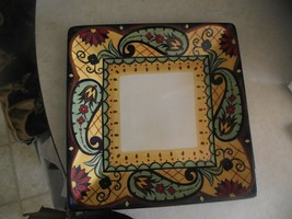 Home Crown Jewel dinner plate ( small chip on corner) 1 available - $8.32