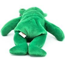 1997 Ty Beanie Baby Original Erin Lucky Shamrock Teddy Bear Beanbag Plush Toy image 5