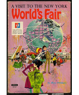A Visit To The New York World's Fair, 1964 hard cover childrens book, of... - $4.75