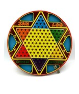 Vintage Jan Loo Chinese Checkers Board with Original Box - $19.75