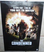 The Condemned WWE WWF Movie Poster 2005 Collectable 21*15 Inch Wrestling... - $25.00