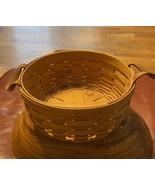 longaberger basket Hand Woven In Dresden ohio Size 9.5 X 9.5 X 4  - $39.37