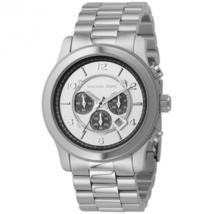 Michael Kors MK8060 Runway Oversize Stainless Steel Men's Watch - $314.09