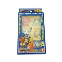 Yutaka Digimon Tamers Deluxe Combination Set 5 Mini Figures Digimon Partner New - $95.00