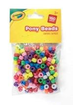 Children Kids Art Craft Crayola Pack of 160 Pony Beads - $3.59