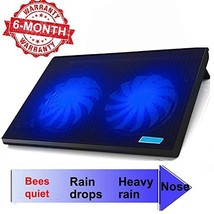 "ThreeLeaf T102 10-15.6"" Office Laptop Cooling Pad Big 2Fans Super Quiet ... - €23,28 EUR"