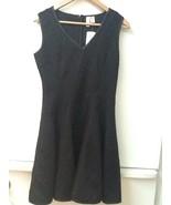 """FOREVER 21 Sleeveless V Neck Textured """"Little Black Dress"""" Medium New NWT - $15.95"""