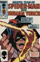 Marvel Team-Up #147 VF/NM 1984 Marvel Spider-Man Human Torch Comic Book - $1.89